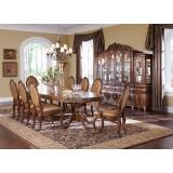 Lavelle - Melange Aico Комплект (Стол обеденный+6 стульев+2 стула с подлотниками)