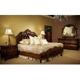 Lavelle - Melange Aico  Комплект (Кровать King Size+2 тумбы прикроватные)