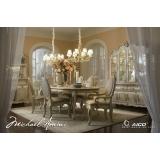 Lavelle-Blanc Aico Комплект (Стол обеденный+6 стульев+2 стула с подлокотниками)