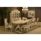 Lavelle-Blanc Aico Комплект (Стол обеденный+8 стульев)