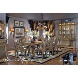 Grande Aristocrat Aico Комплект (Стол обеденный+6стульев+2 стула с подлокотниками)