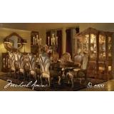 Trevi Aico Комплект (Стол обеденный+6стульев+2 стула с полокотниками)