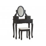B128-122 Туалетный стол с зеркалом и табуретом