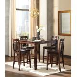 D384-233 Ashley Комплект (Стол высокий (барный)+4 барных стула)**