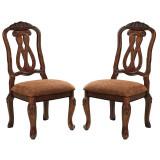 D553-50-03А(4) Ashley Комплект (Стол обеденный+4 стула с полокотниками)