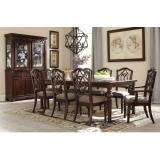 D626-35-01(6)-01A(2) Ashley Комплект (Стол обеденный раздвижной+6 стульев+2 стула с подлокотниками)***