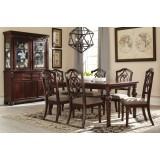 D626-35-01(6) Ashley Комплект (Стол обеденный раздвижной+6 стульев)***