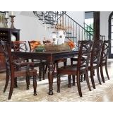 D697-35-01(6)-01A(2) Ashley Комплект (Стол обеденный раздвижной+6 стульев+2 стула с подлокотниками)***