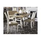 D742-25-01(4)-08(1) Ashley Комплект (Стол обеденный+4 стула+1 скамья)*