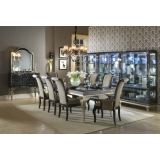 Hollywood Swank Aico Комплект (Стол обеденный+6 стульев+2 стула с подлокотниками)