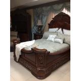 Excelsior Aico  Комплект ( Кровать Queen Size+ 2 тумбы прикроватные)